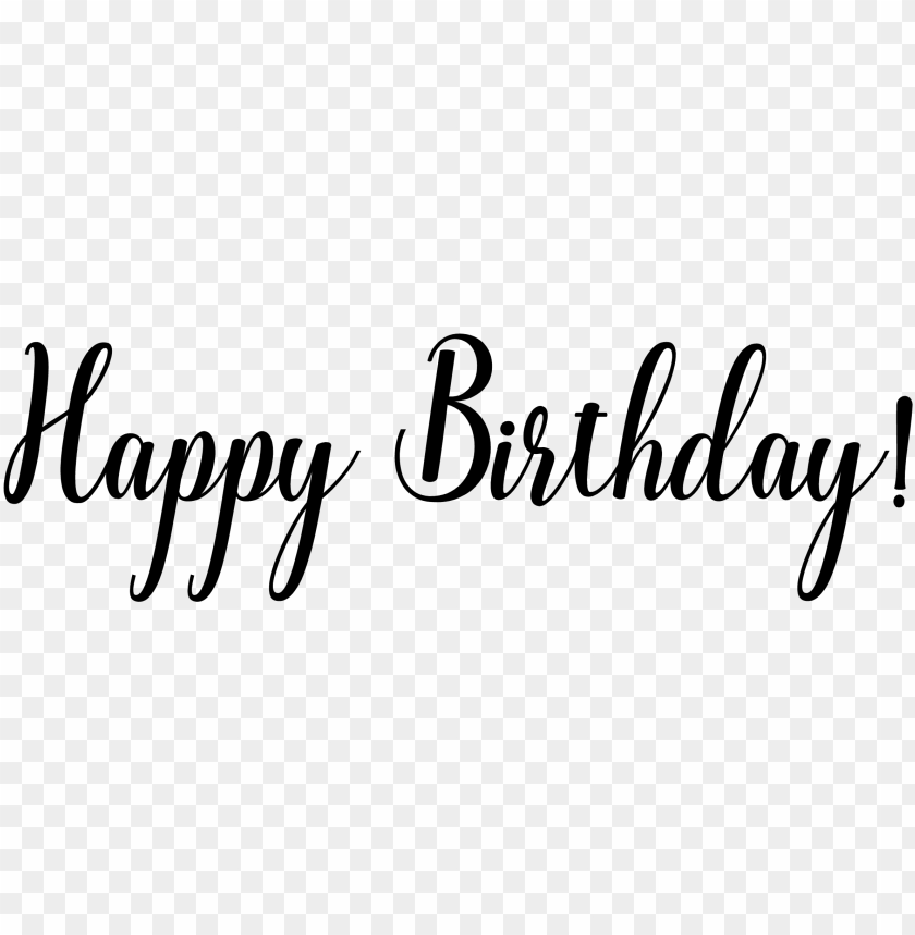 free PNG watercolor fonts - happy birthday word transparent PNG image with transparent background PNG images transparent