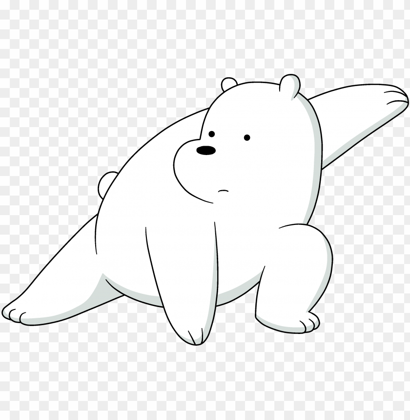 We Bare Bears Black Png Image With Transparent Background