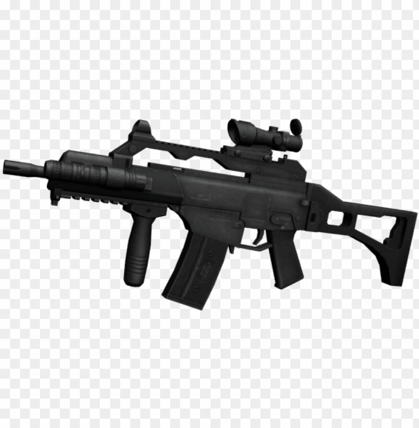 weapon mod g36 for gta san andreas - armas do point blank