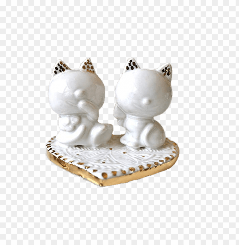 free PNG wedding cake topper cat figurines PNG image with transparent background PNG images transparent