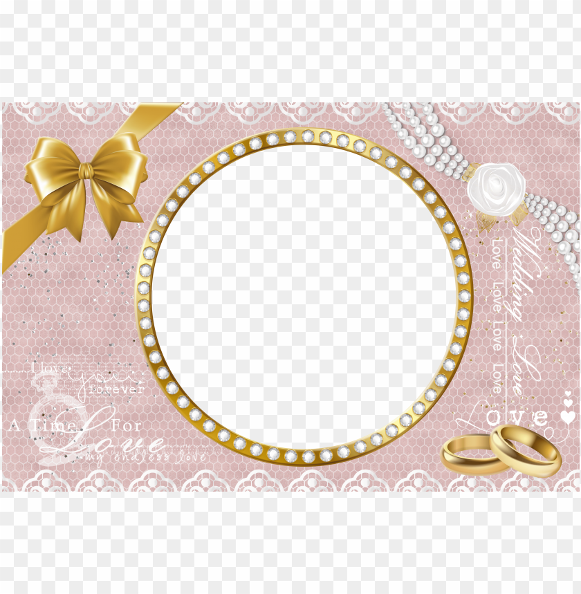 Wedding Photo Frame Background Png