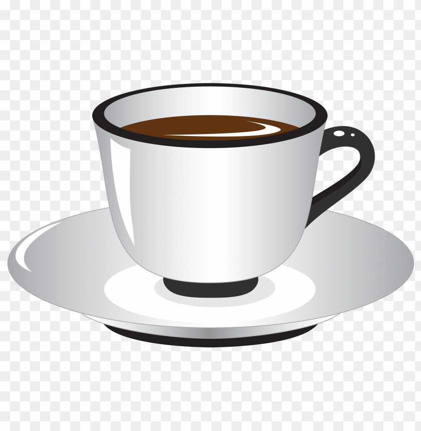 free PNG white and black coffee cup PNG images transparent