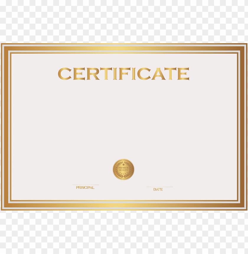 Certificate Clipart Credential - Certificate Clipart Credential - Free  Transparent PNG Clipart Images Download