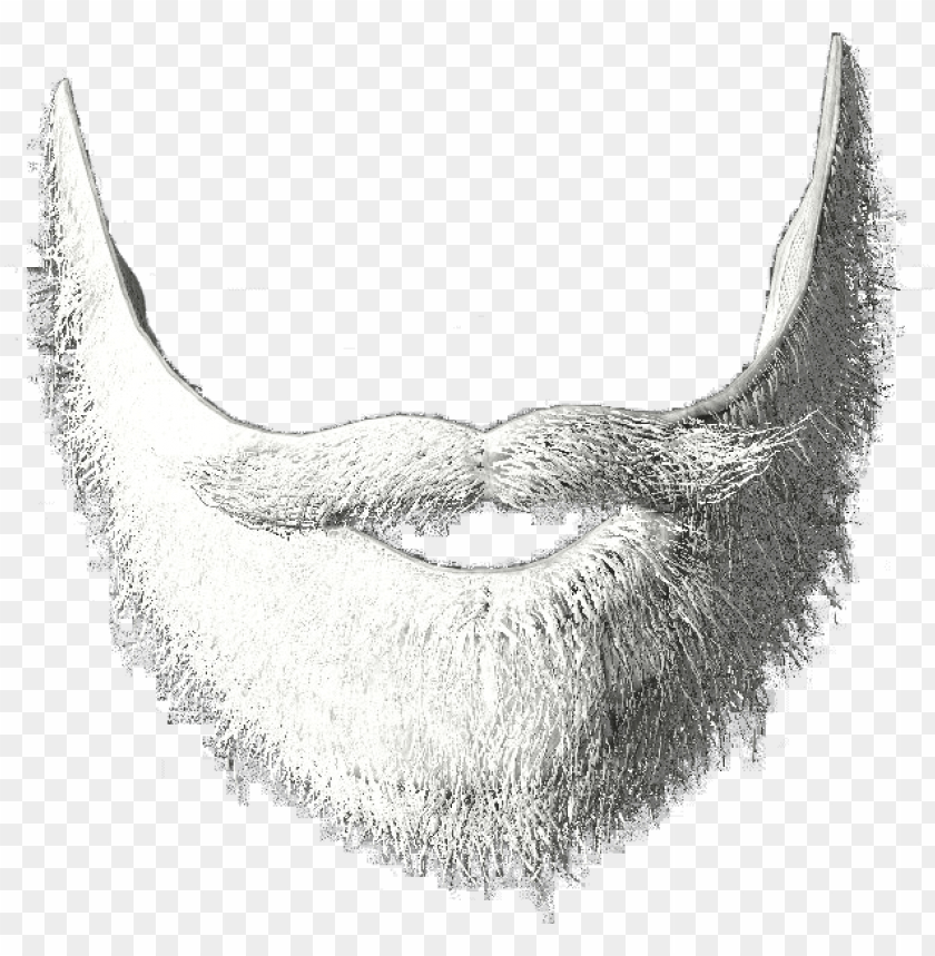 free PNG white beard png - png transparent santa beard PNG image with transparent background PNG images transparent