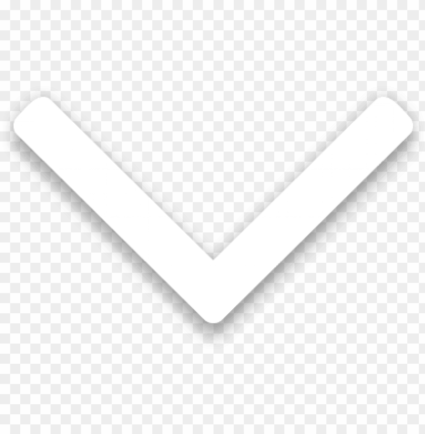 free PNG white drop down arrow PNG image with transparent background PNG images transparent