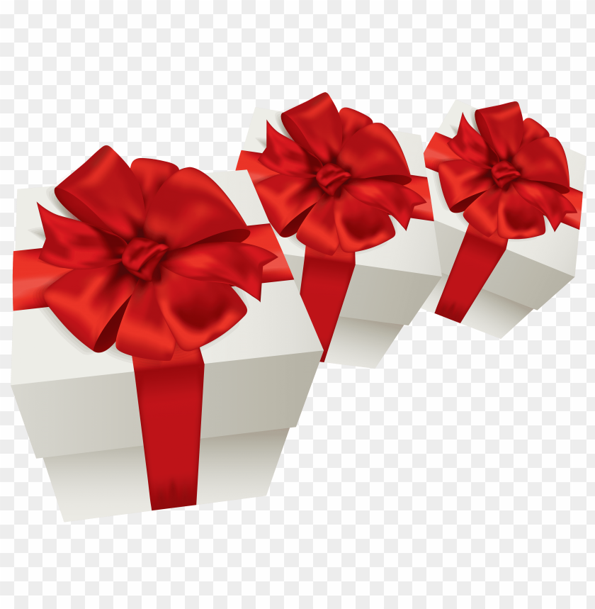 free png white gift boxes PNG images transparent