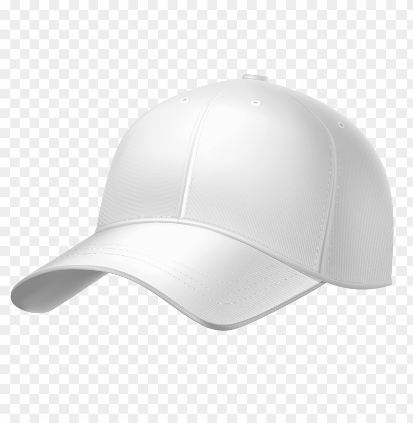 Free Png Download White Plain Baseball Cap Clipart Png