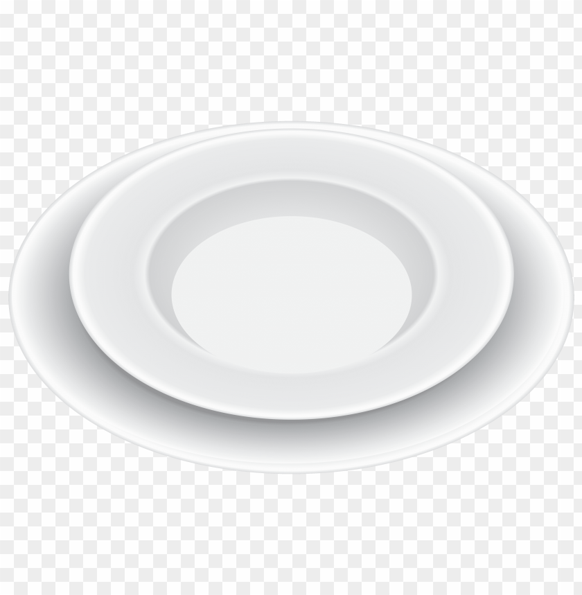 free png white plates PNG images transparent
