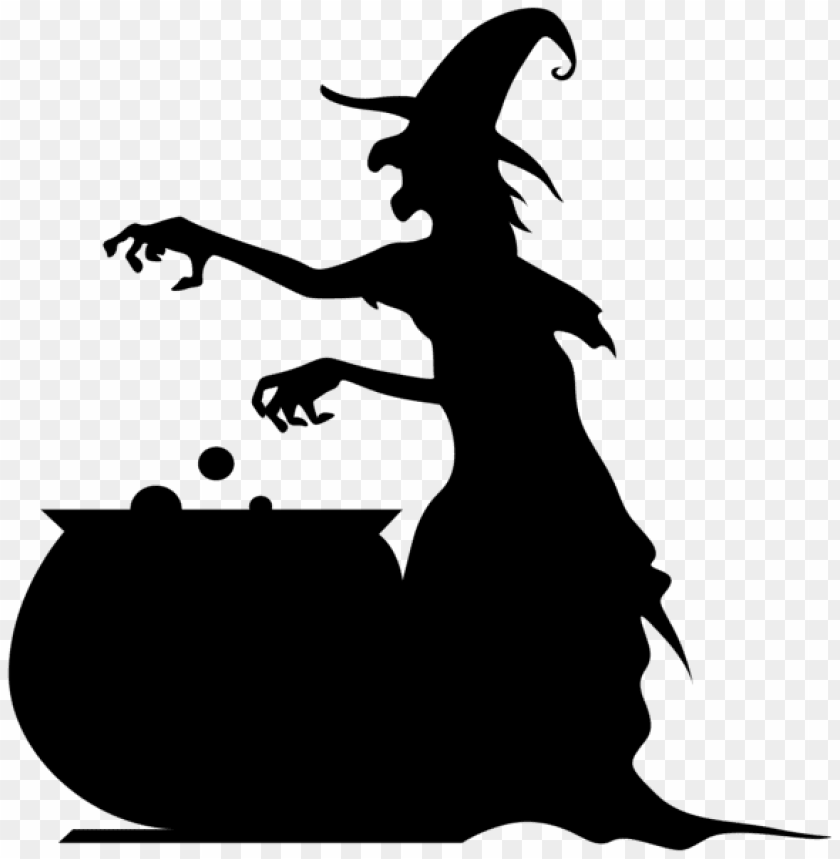 free PNG Download witch with cauldron silhouette png clip ar png images background PNG images transparent