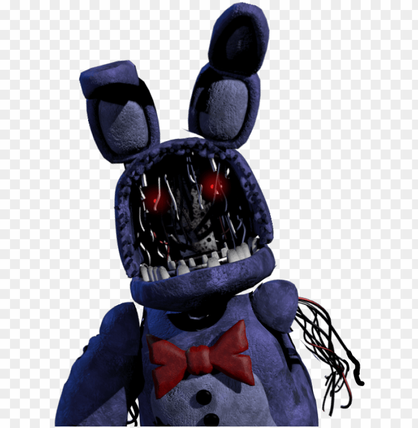 free PNG withered bonnie alternate jumpscare custom fnaf bonnie - fnaf withered bonnie PNG image with transparent background PNG images transparent