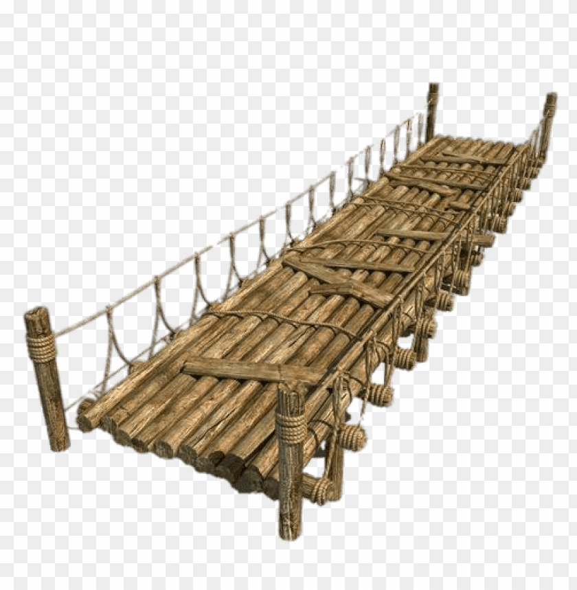 free PNG Download wooden bridge with rope png images background PNG images transparent
