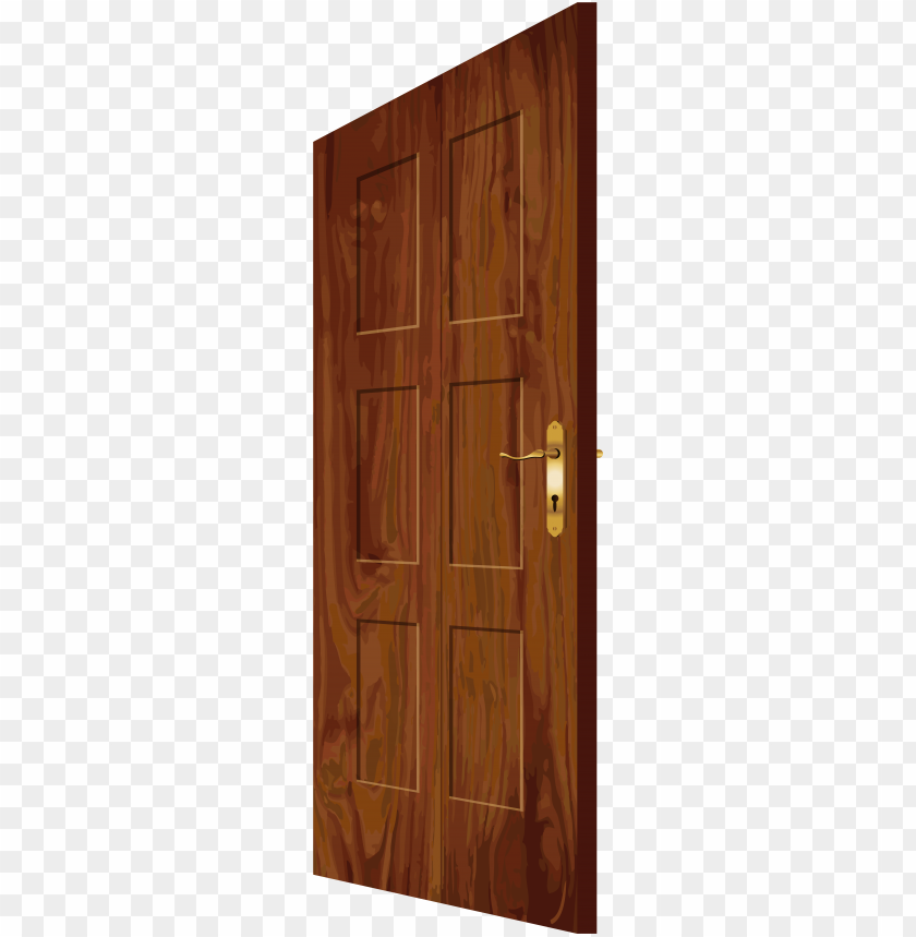 free PNG wooden door png clip art - wooden doors clipart PNG image with transparent background PNG images transparent