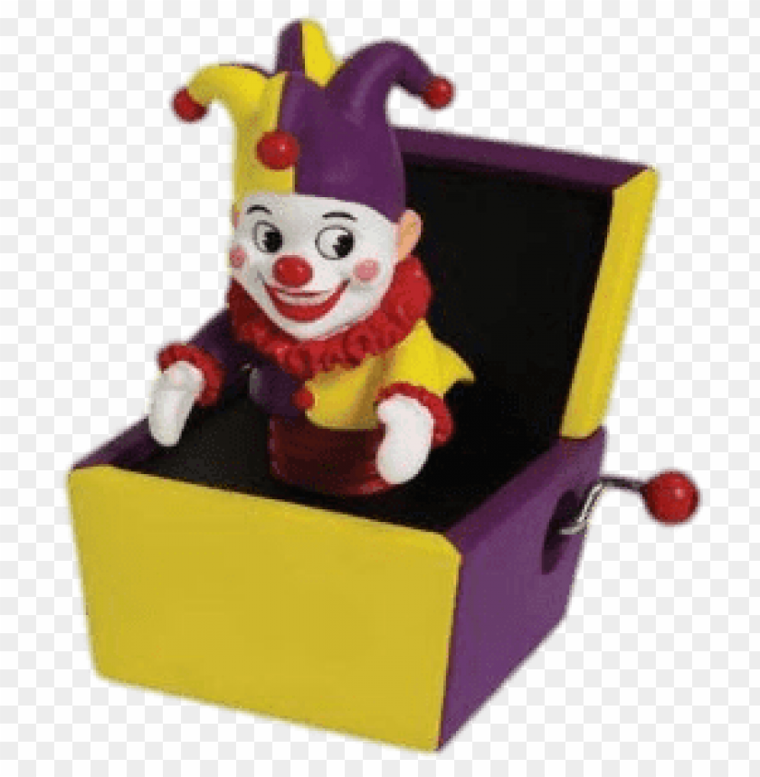 free PNG yellow and purple jack in a box PNG image with transparent background PNG images transparent