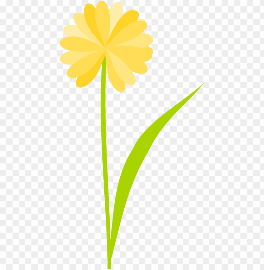 View Yellow Flower Background Png