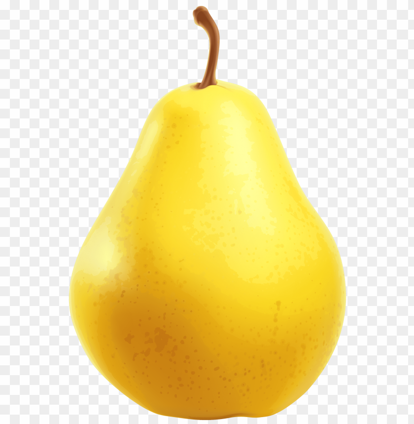 free PNG yellow pear PNG images transparent