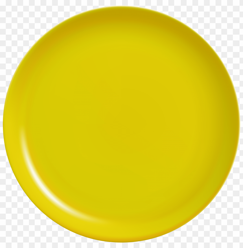 free png yellow plate PNG images transparent