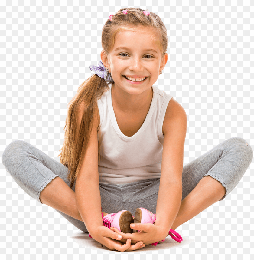 free PNG ymnastics sport actividad balance - little girl sitting PNG image with transparent background PNG images transparent