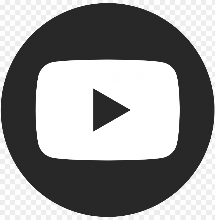 free PNG youtube icon black and white PNG image with transparent background PNG images transparent