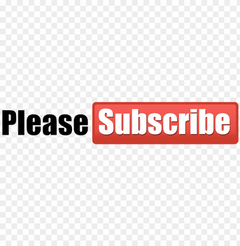 youtube subscribe button download transparent png image - please