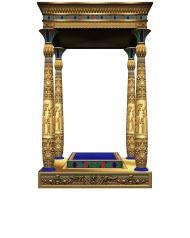 3D Egyptian architecture