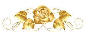 beautiful gold rose decor