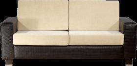 black and white modern sofa