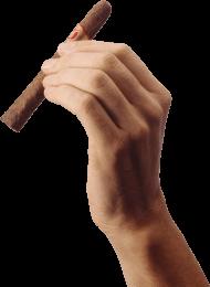 Cigar Hand transparent