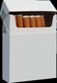 Cigarette Pack White