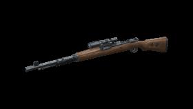 classic wooden sniper