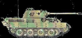 colorful drawn tank