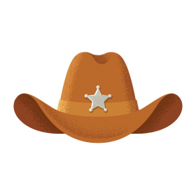 cowboy hat  background