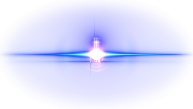 Creative lens flare light effect