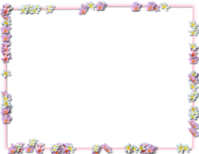 flowers borders png pic