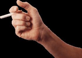 free Cigarette Hand