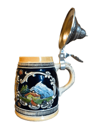 Beer Mug Mountain Decoration