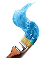 Blue Spiral Brush