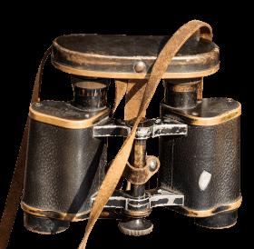 Very Old Binoculars