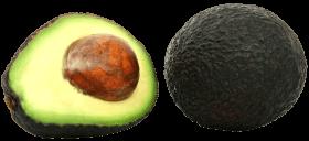 Full and Half Avocado