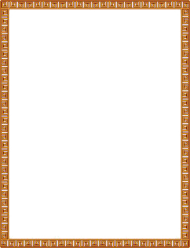gold border frame png pic