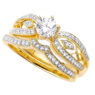 gold rings  image