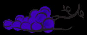 grapes cartoon png