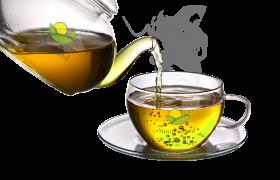 green tea png file