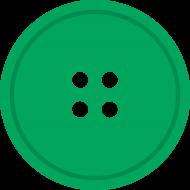 greent round button