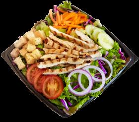 habit burger salad png