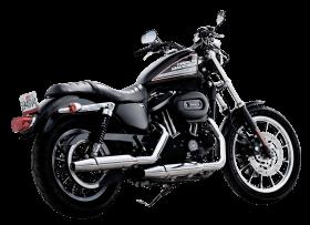 Harley Davidson Black Color Motorcycle Bike