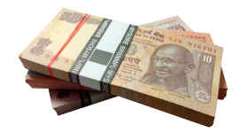 India currency mony