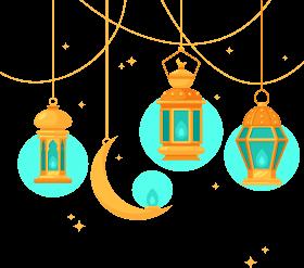 Islamic style chandelier