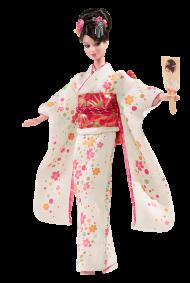 Japan Barbie Doll Kimono