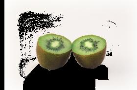 kiwi halved