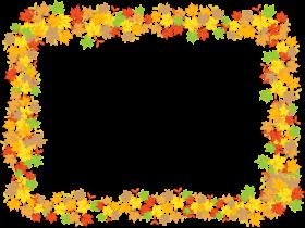 leaf frame png pic